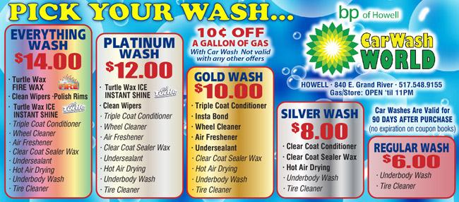 America's car wash coupons