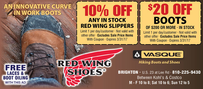 Red Wings Shoes