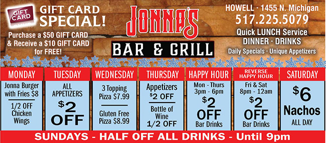 Jonnas Bar & Grill