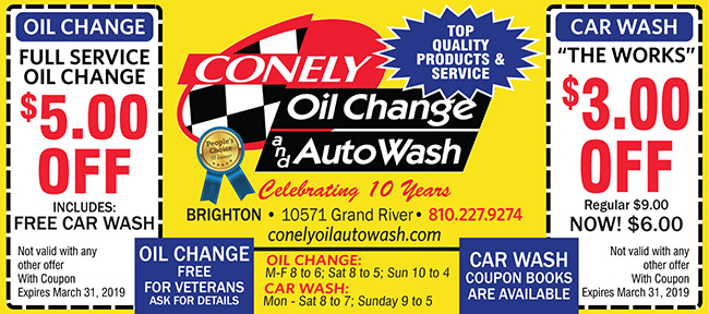 Conely Oil Change & Auto Wash