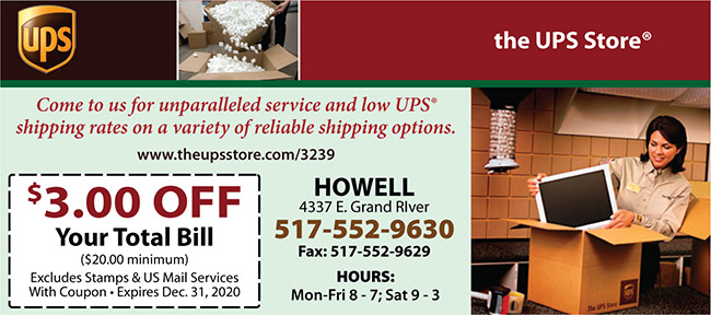 UPS store - Howell